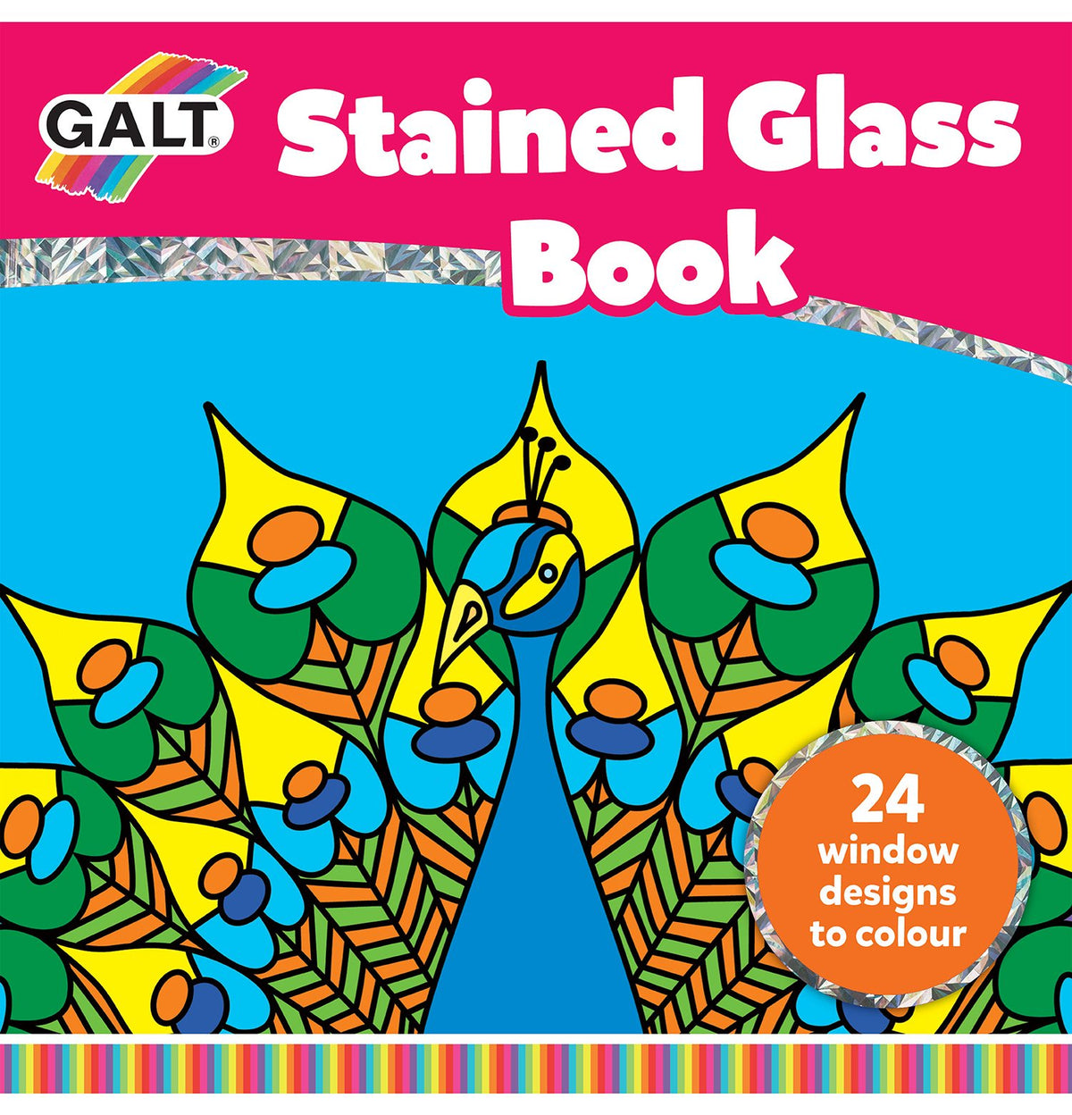 Stained Glass Book - Galt