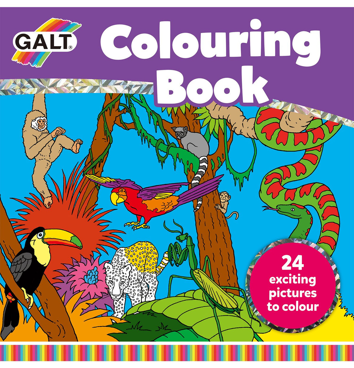 Colouring Book 2017 - Galt