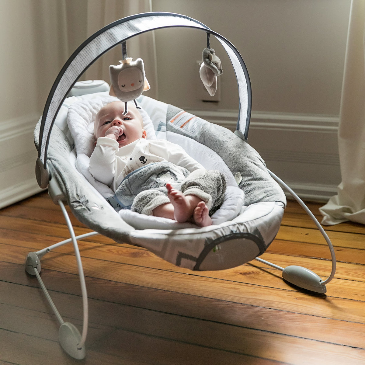 Ingenuity BS11542 Bouncer SmartBounce Automatic Bouncer - Braden P