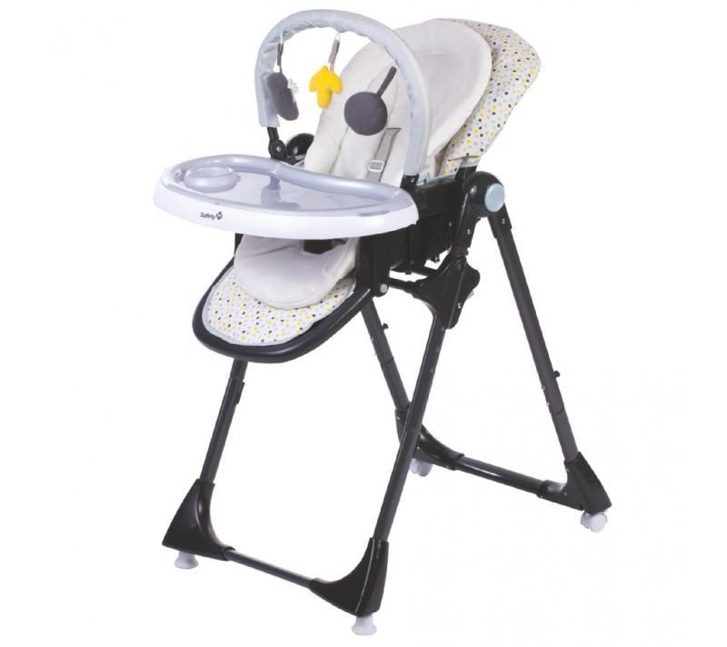 Safety 1st SFE2775-949000 Kiwi 3-in-1 Reclinable Highchair - Grey Patch