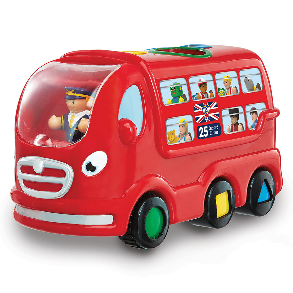 WOW Toys London Bus Leo