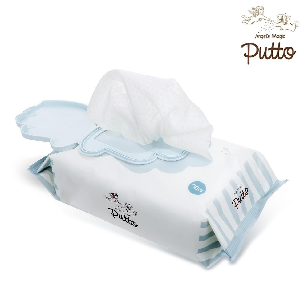 Putto Secret Premium Embossing Baby Wet Tissue w/CAP 70 sheets