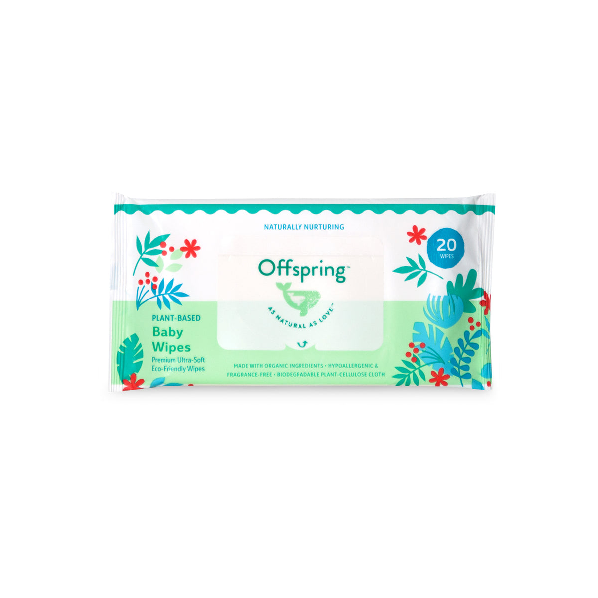 Offspring Baby Wipes 20ct