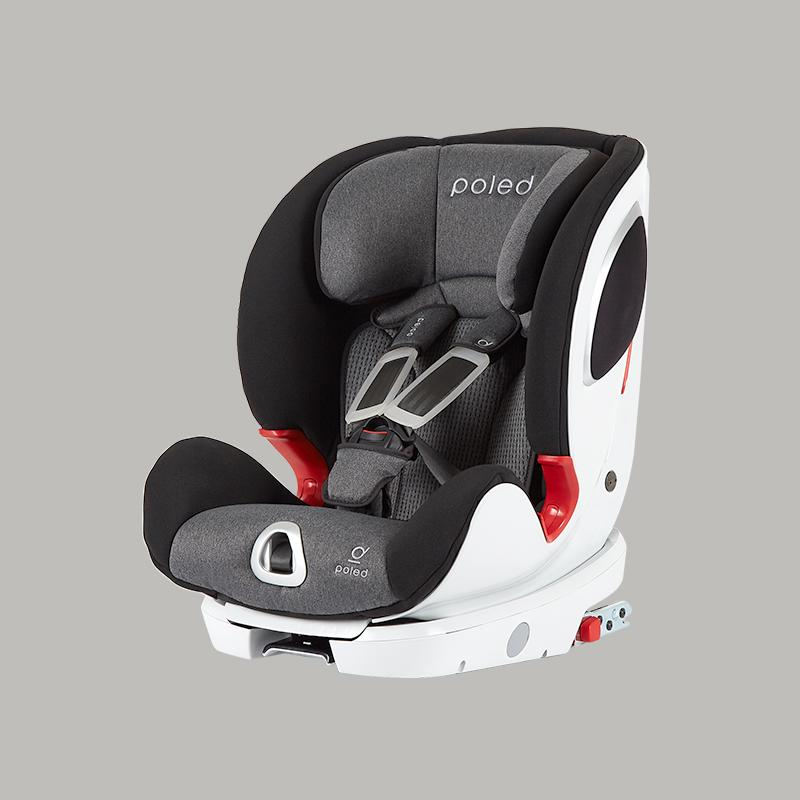 Poled Y-FIX Pro Toddler Car Seat | Bohemian Gray