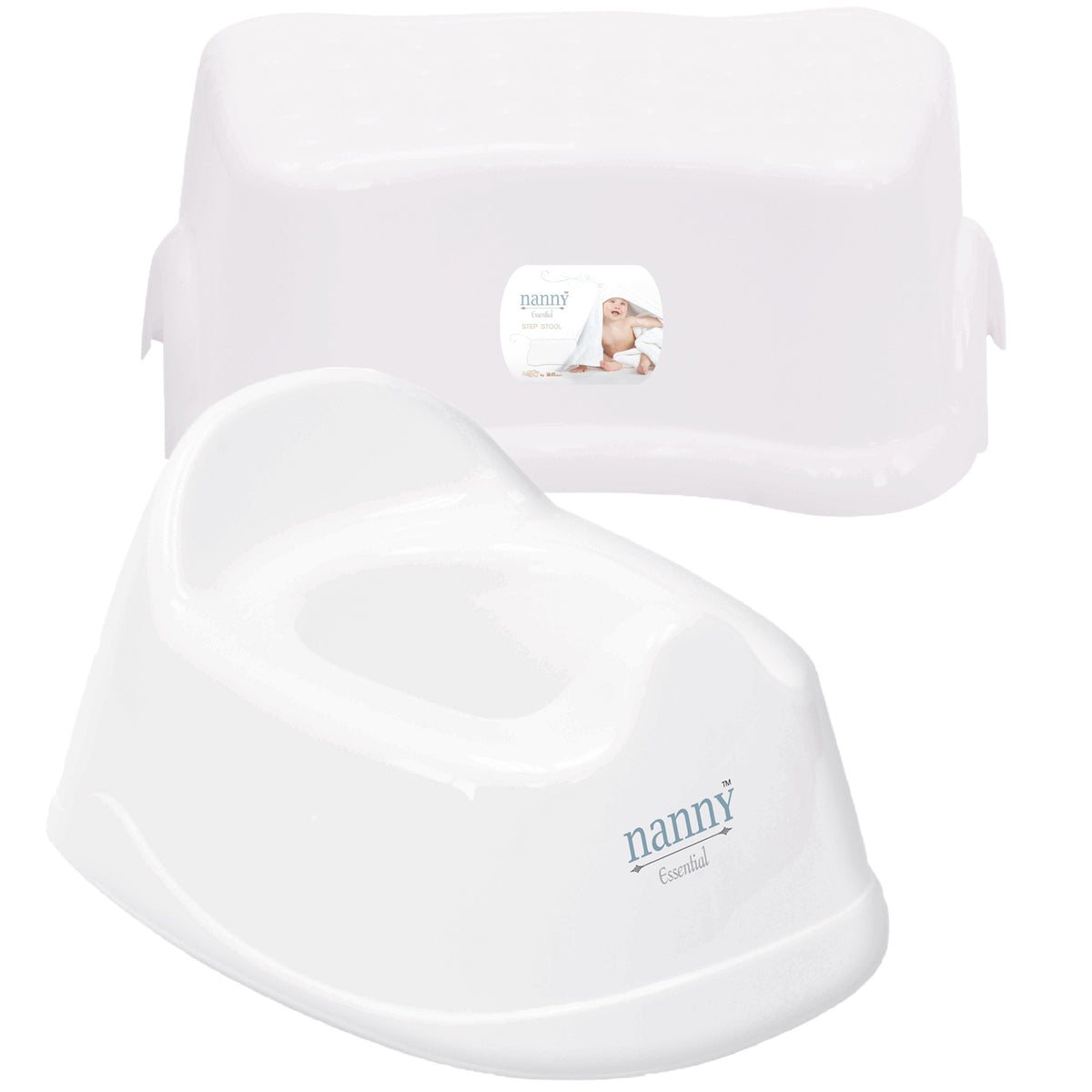 Nanny Potty + Step Stool