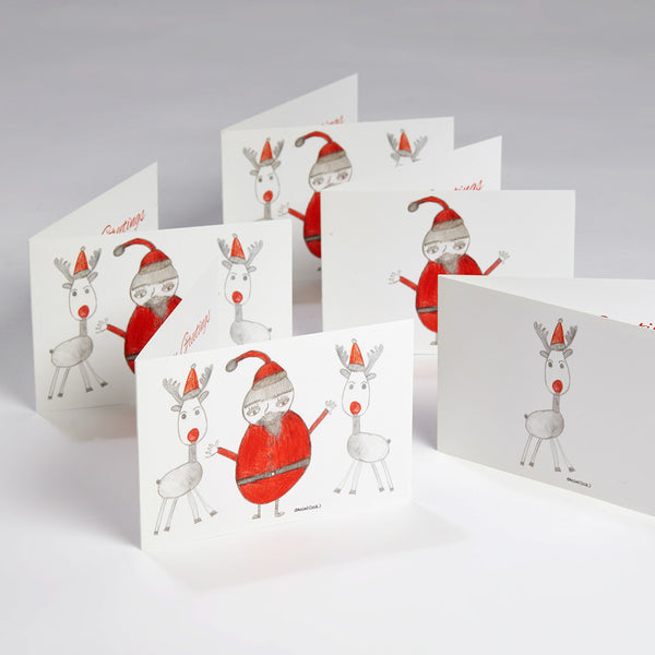 Xmas Card - Mixed Pack of 5