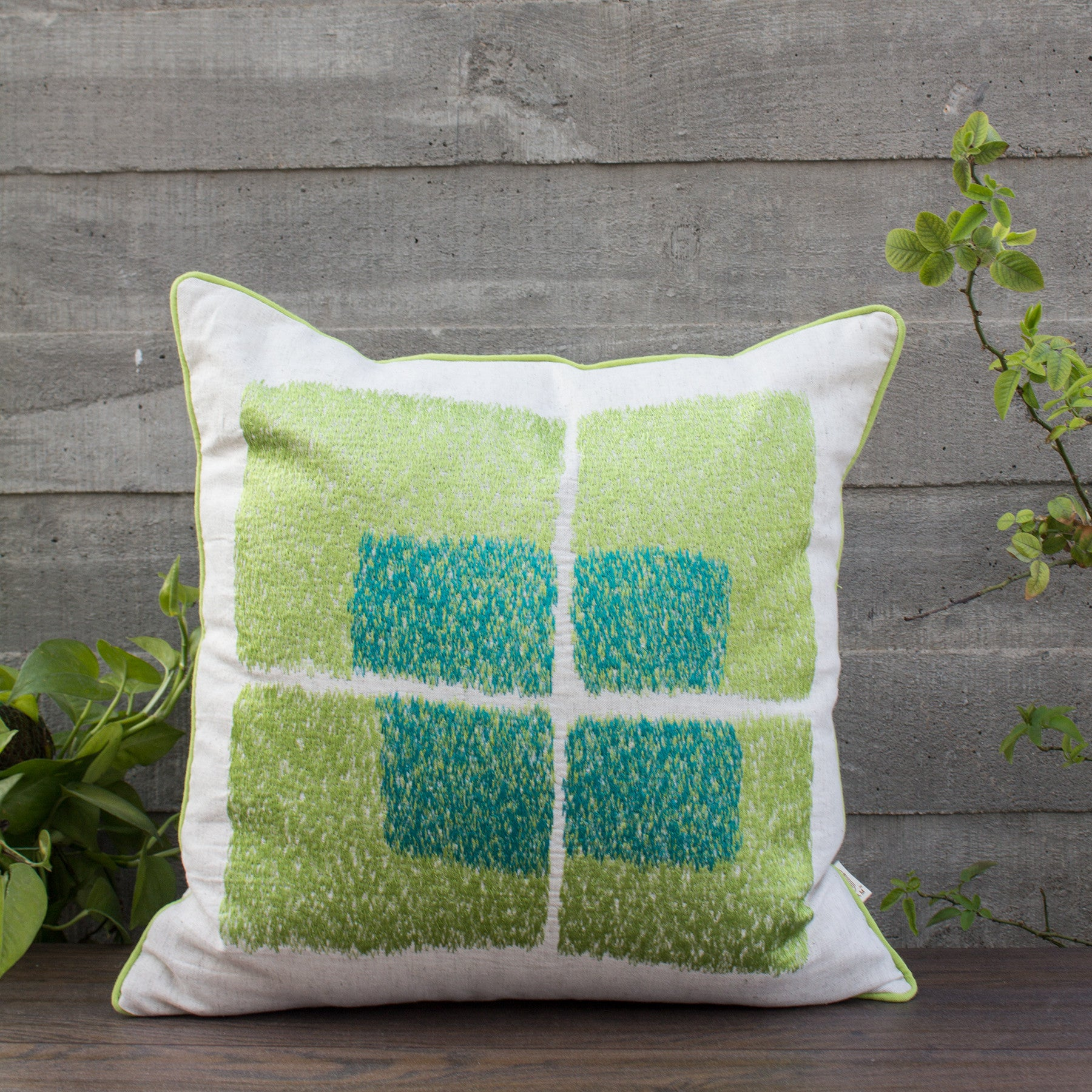 LIME PUNCH CUSHION COVER