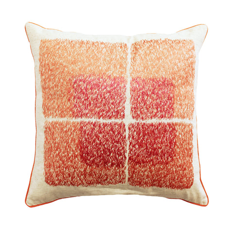 APRICOT BLUSH CUSHION COVER