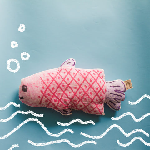 FISH SHAPED CUSHION