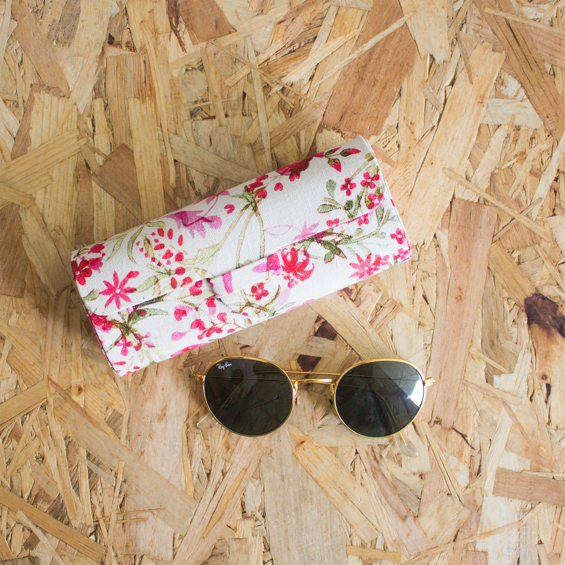FLORAL SPECTACLE CASE