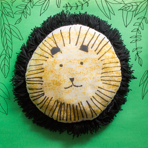 LION SHAPED CUSHION