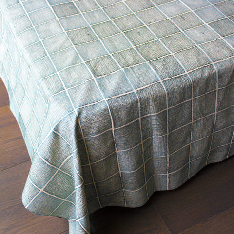 GREY SHIRA BED COVER