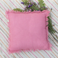 PINK BLOSSOM CUSHION COVER