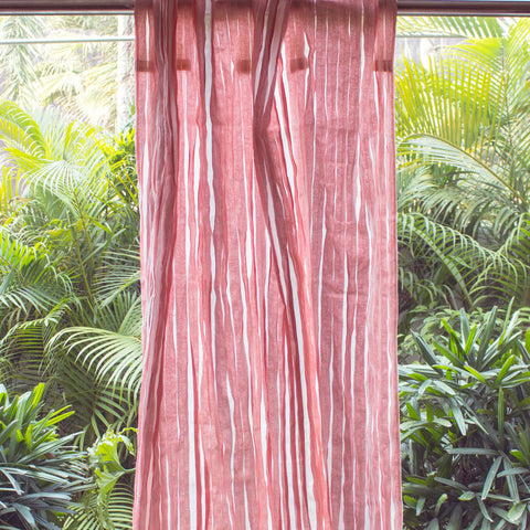 PINK BLOSSOM SHEER CURTAIN