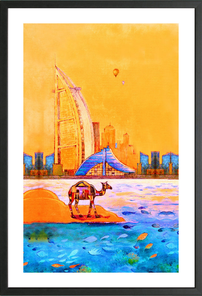 Burj Al Arab & Jumeirah arts prints
