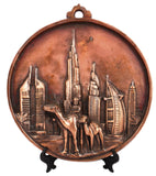 Dubai skyline antique arts prints