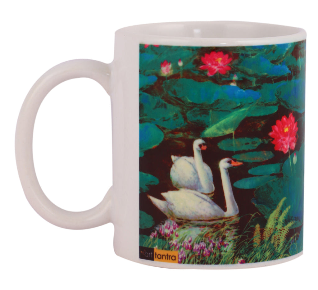 Swans mugs arts prints