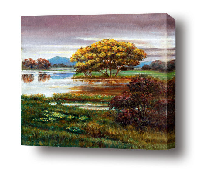 Nature's Mirror stretched canvas arts prints