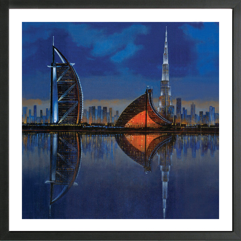 Reflection of Dubai