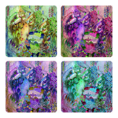 Butterfly coaster arts prints