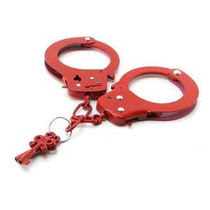 Metal Handcuffs - Red