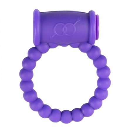 Vibrating Cock Ring With Beads