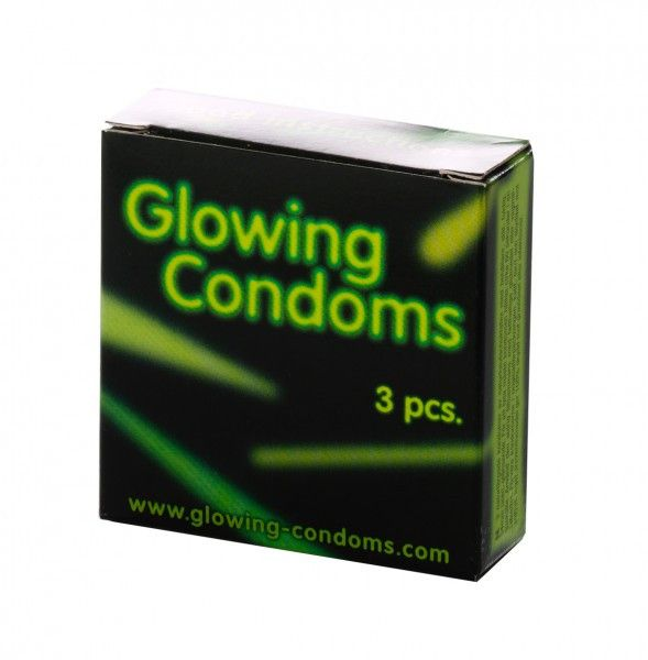 Glow in the dark condom