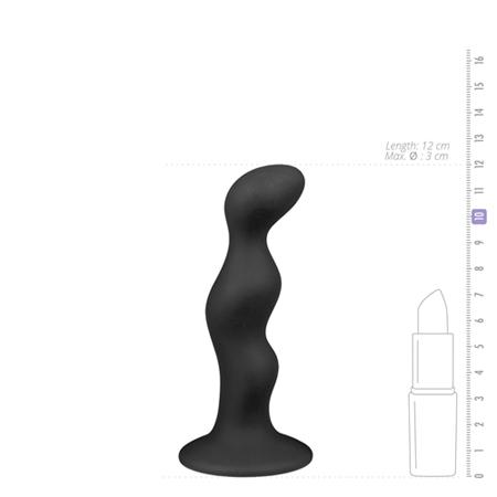 Ribbed Dildo - Black