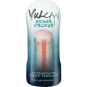 Vulcan Deep Throat H2O Shower Stroker (Cyberskin) by Funzone