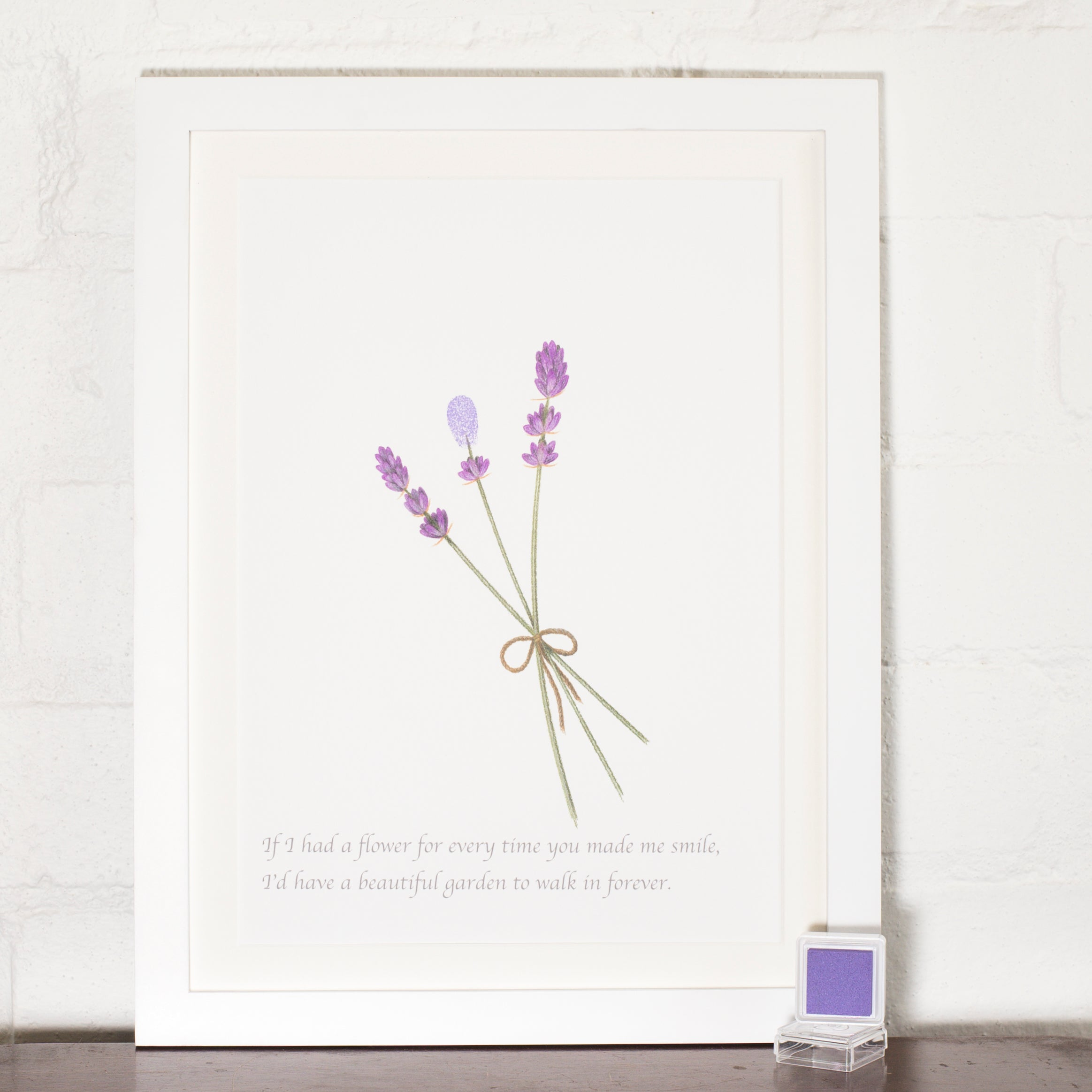 Mother Day Lavender print