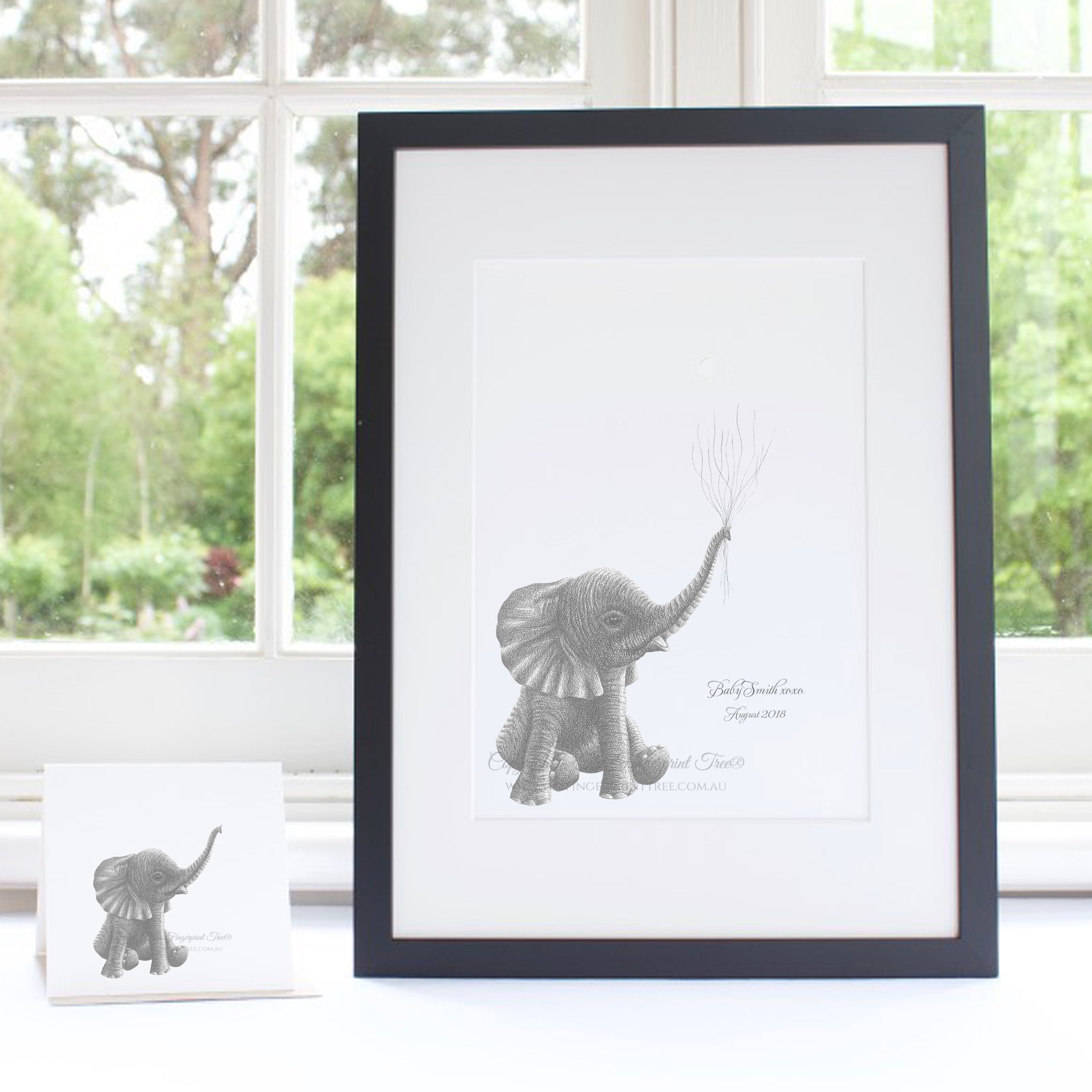 Baby Elephant guestbook