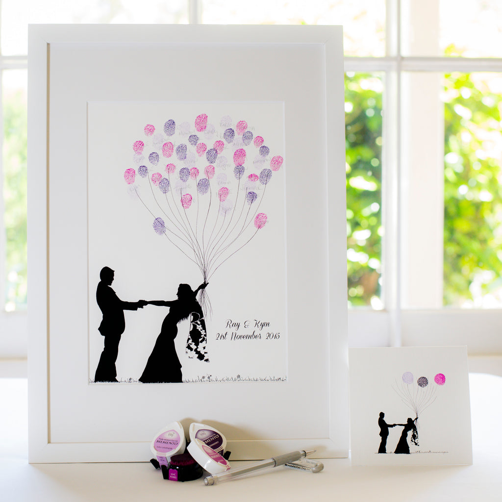 Be Mine wedding guestbook
