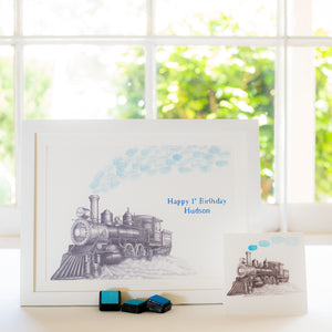 Steam train guestbook