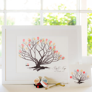 Fig tree B&W guestbook