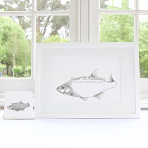 Fish guestbook