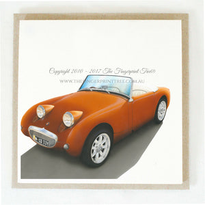Austin Healey 5 x gift cards