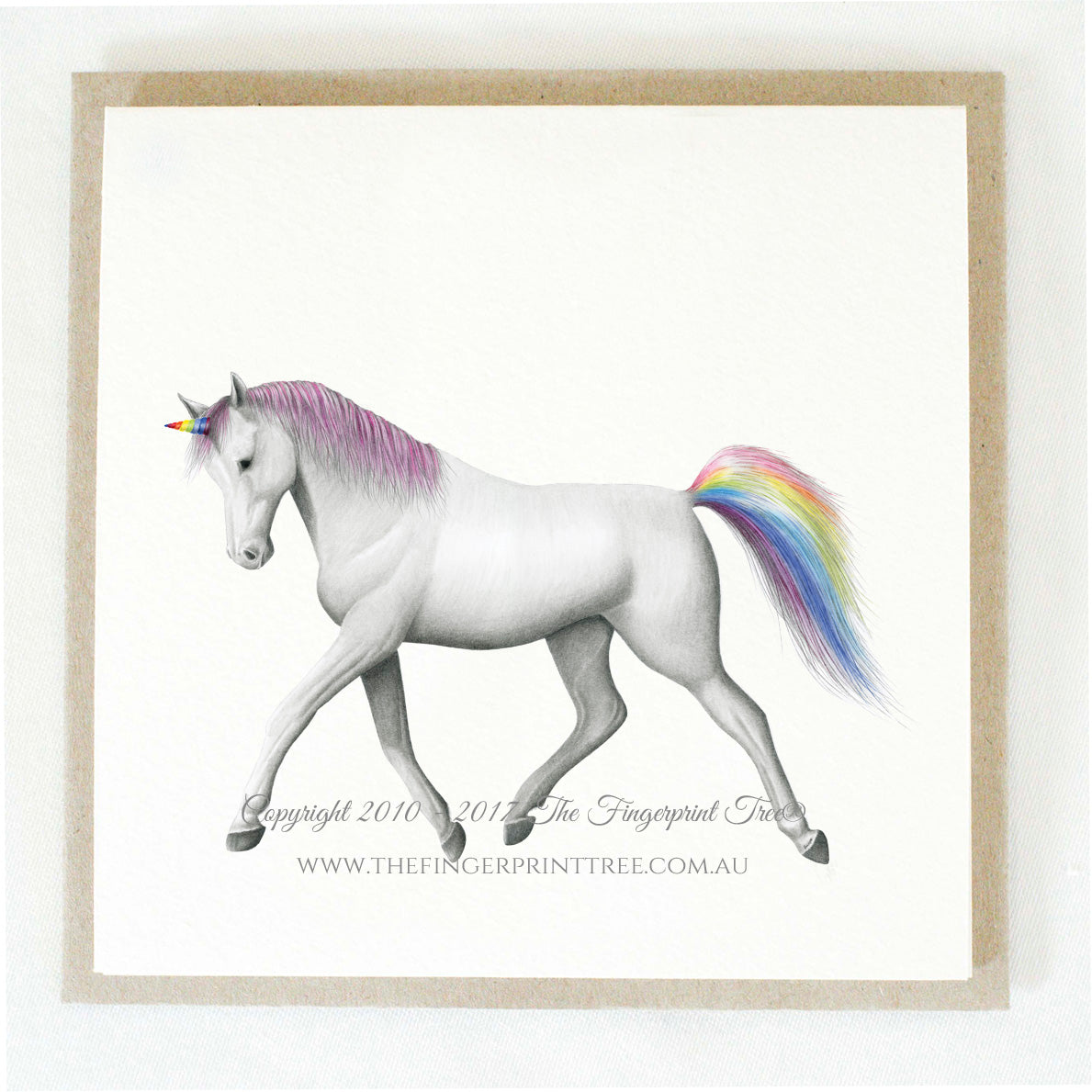 Unicorn x 5 gift cards