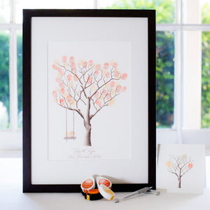 Silver Ash + swing guestbook