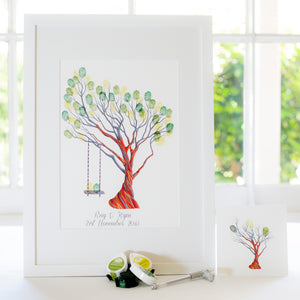 Snow Gum + swing guestbook