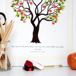 Teachers apple tree guestbook