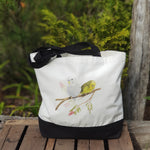 Budgies tote bag
