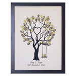 Unity tree Green birds + swing guestbook