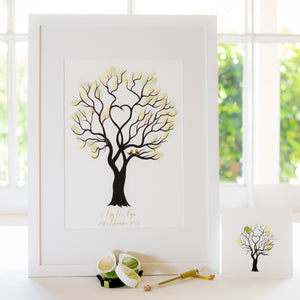 Unity tree Green birds guestbook