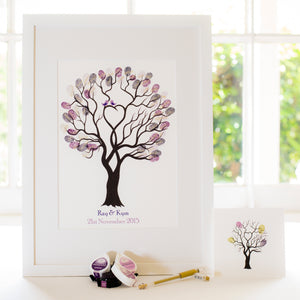Unity tree Purple birds guestbook