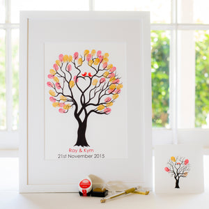 Unity tree Red birds guestbook