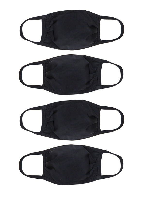 4 Pack | Triple Layer | Adults Face Masks