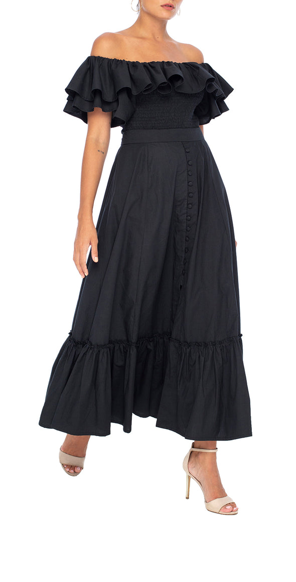 Brooklyn Split Skirt