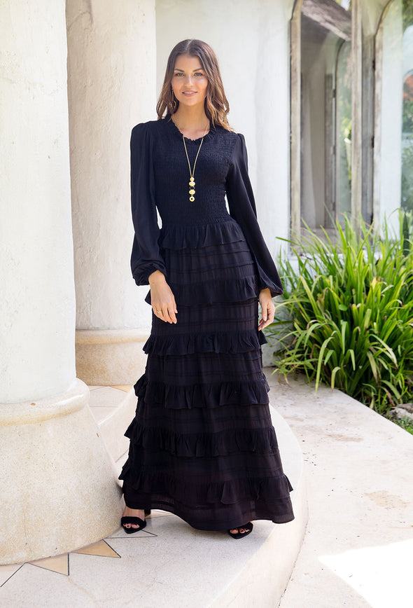 Cynthia Detailed Maxi