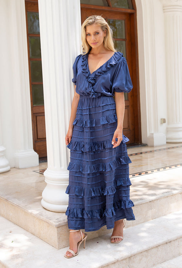 Tallulah Cross Over Maxi Dress