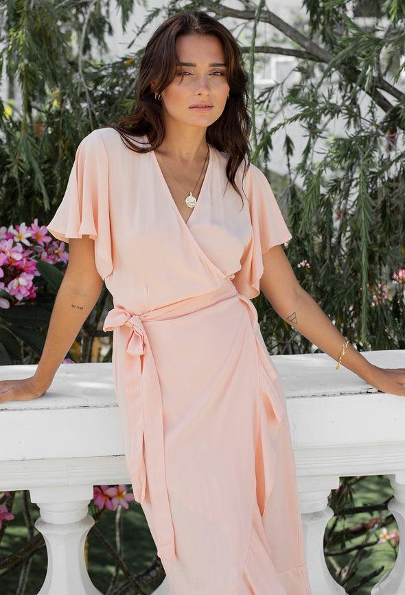 Grace Wrap Dress
